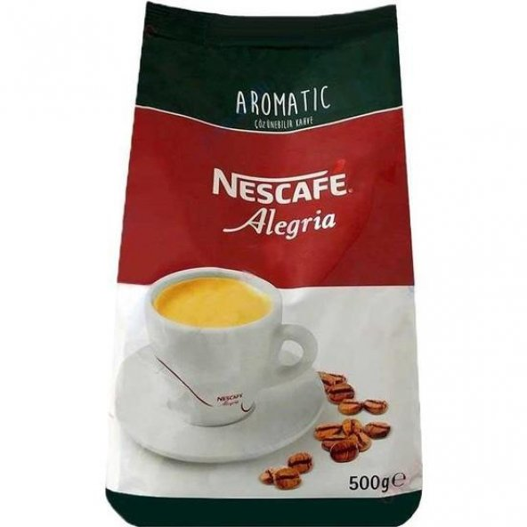 Nestle Alegria Aromatic Çözülebilir Kahve 500g 12392502