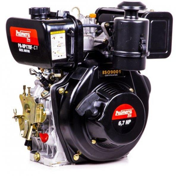 Palmera PA-HP178F-C1 Dizel Motor İpli Çapa Tip(Konik Şaft) 6.7HP