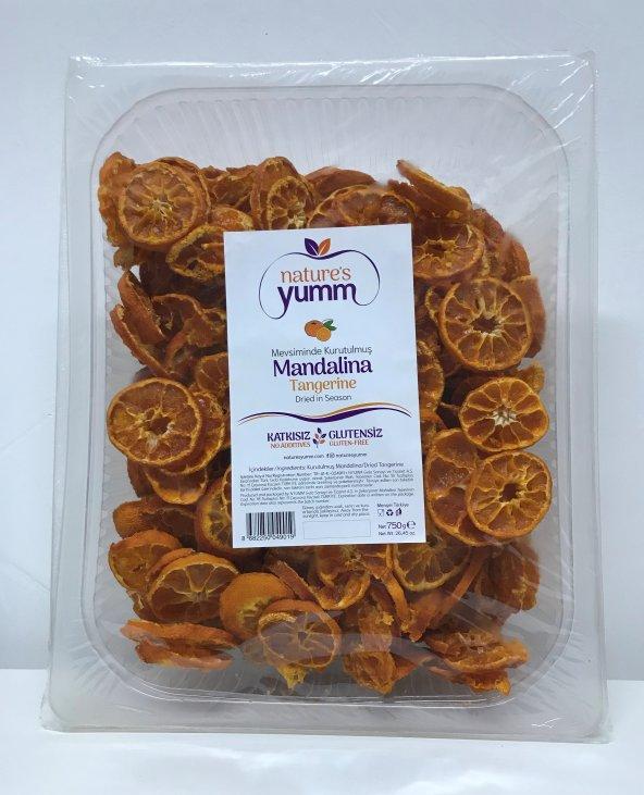 nature's yumm Kurutulmuş Dökme Mandalina 750 gr