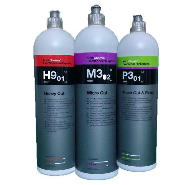 Koch Chemie H9-M3-P3 Boya Koruma Seti 250 ML