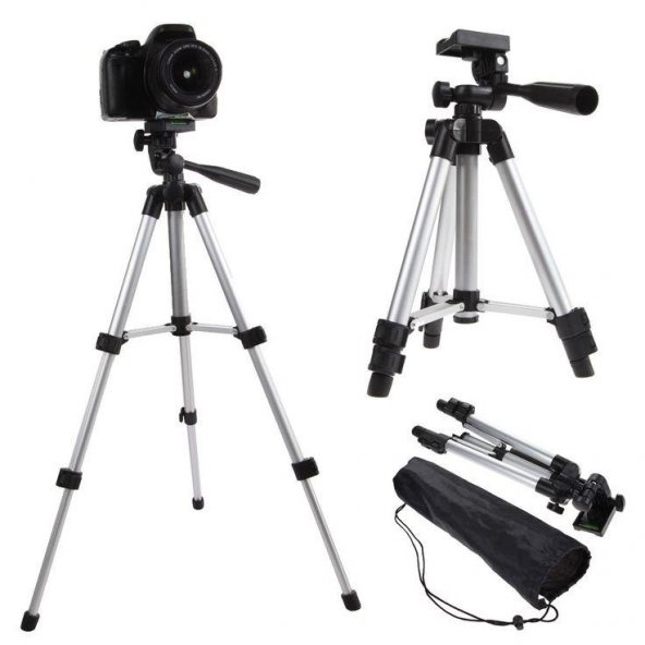 Tripod 150 cm Katlanabilir Telefon Kamera Youtuber Tripot Ayak