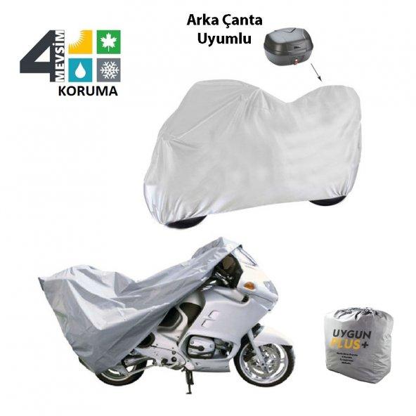 Yamaha Zuma 50F Arka Çanta Uyumlu Örtü Motosiklet Branda