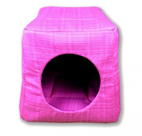 Kedi Evi/Kulübesi- Kedi ve Küçük Köpek Yatağı/Minderi/Yuvası