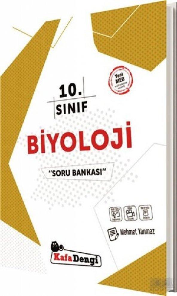 10.Sınıf Biyoloji Soru Bankası- Kafadengi Yayınları 2020