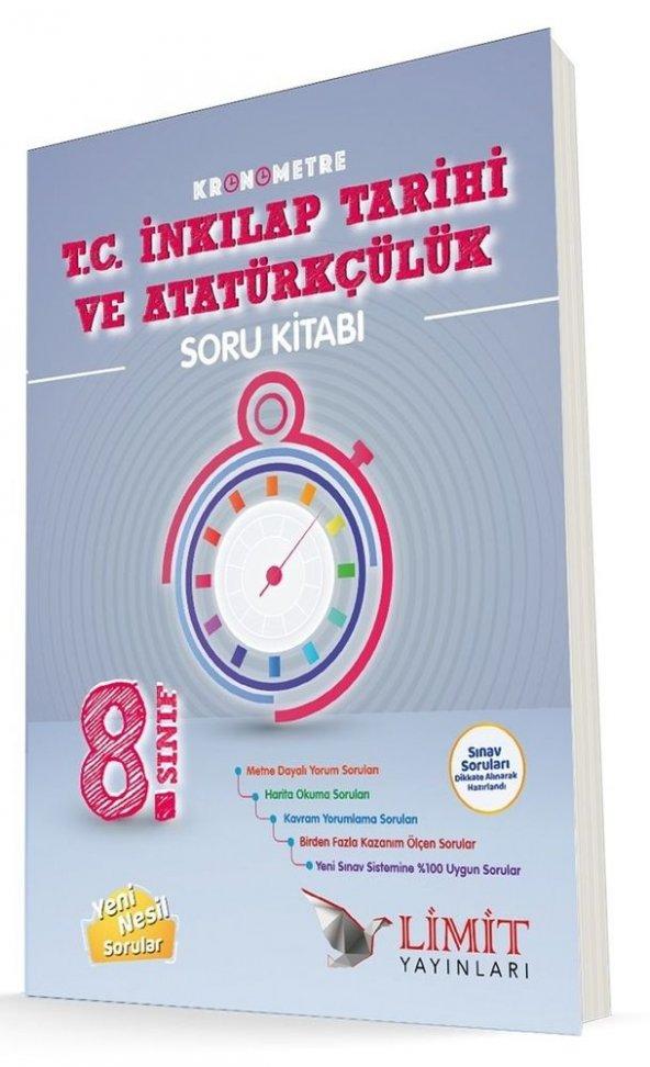 LimitYayınları 8.Sınıf Kronometre TC İnkılap Tarihi-Atatürçülük