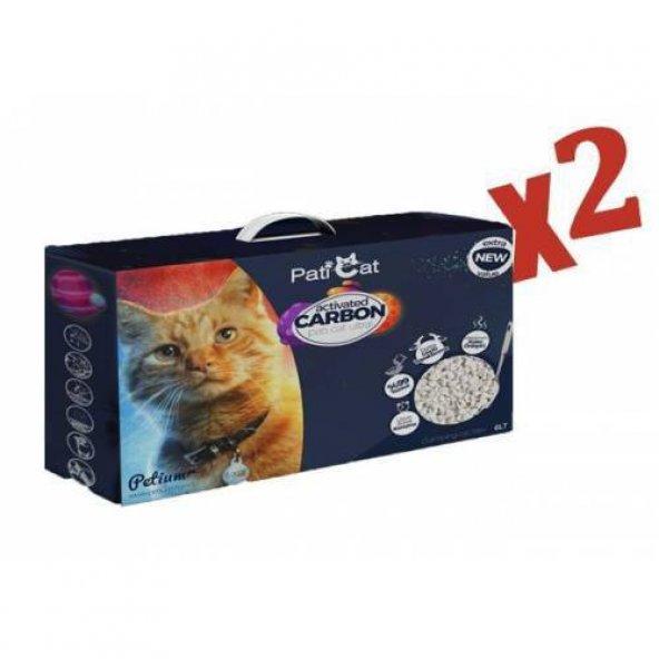 Paticat Aktif Karbon Ultra Topaklaşan Kokusuz Kedi Kumu 6 Li