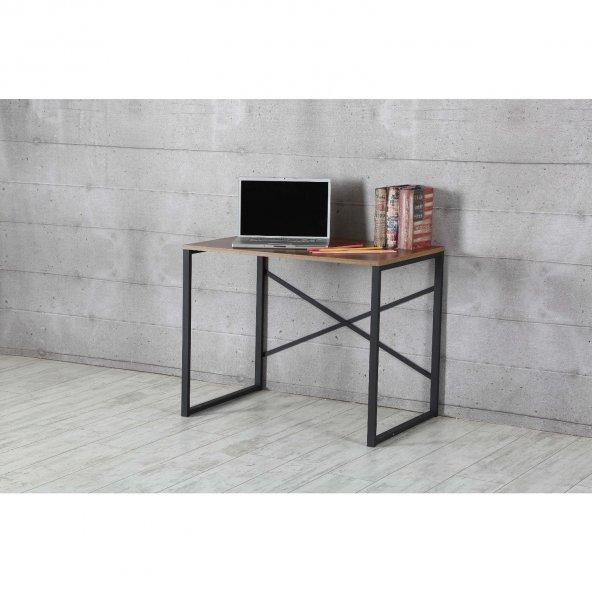 Çalışma Masası-Laptop Masası Ceviz 90x60 cm Ücretsiz Kargo