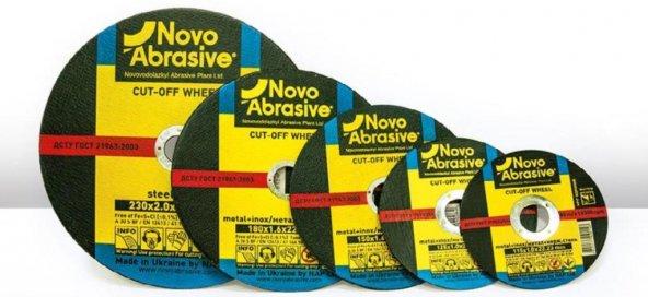 Novo Abrasive Metal + İnox Kesme Taşı 180*1,6*22.23 (10 Adet)