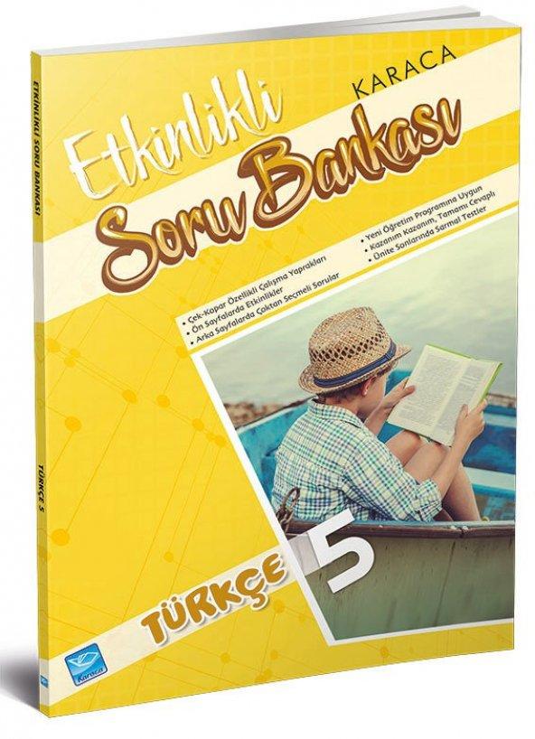 Karaca Eğitim Yayınları Etkinlikli Soru Bankası Türkçe 5. Sınıf