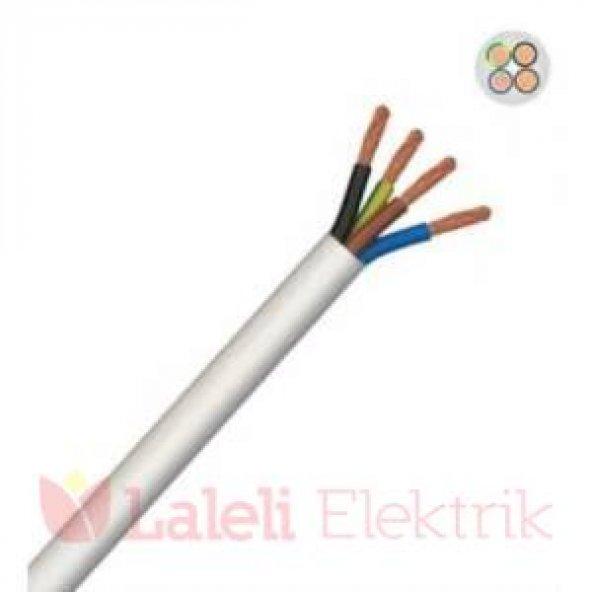 Öznur 4x4 mm TTR Kablo 100 mt Beyaz