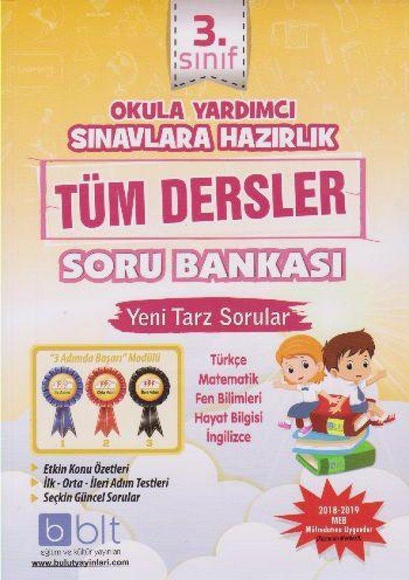 Bulut Eğitim 3. Sınıf Tüm Dersler Soru Bankası YENİ