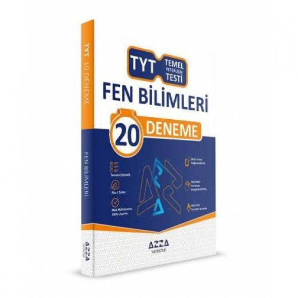 Azza Yayınları Tyt Fen Bilimleri Denemesi