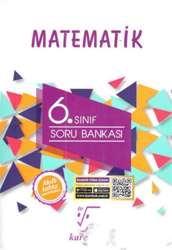 Karekök Matematik 6.Sınıf Soru Bankası Yeni