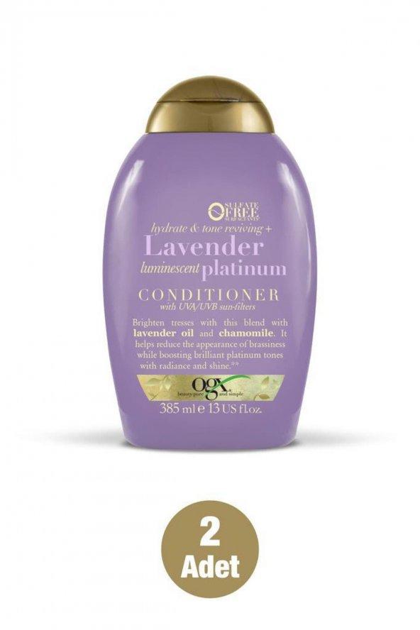 Organix Lavender Platinum Bakım Kremi 2X85 ml