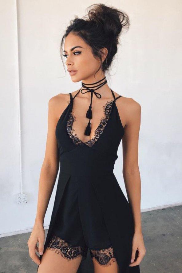 Merry See Şortlu Tulum Elbise