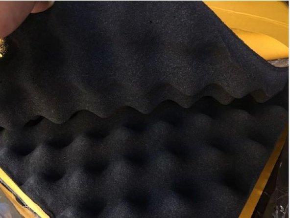 Akustik Yumurta Sünger Yapışkanlı 30 MM 100x100