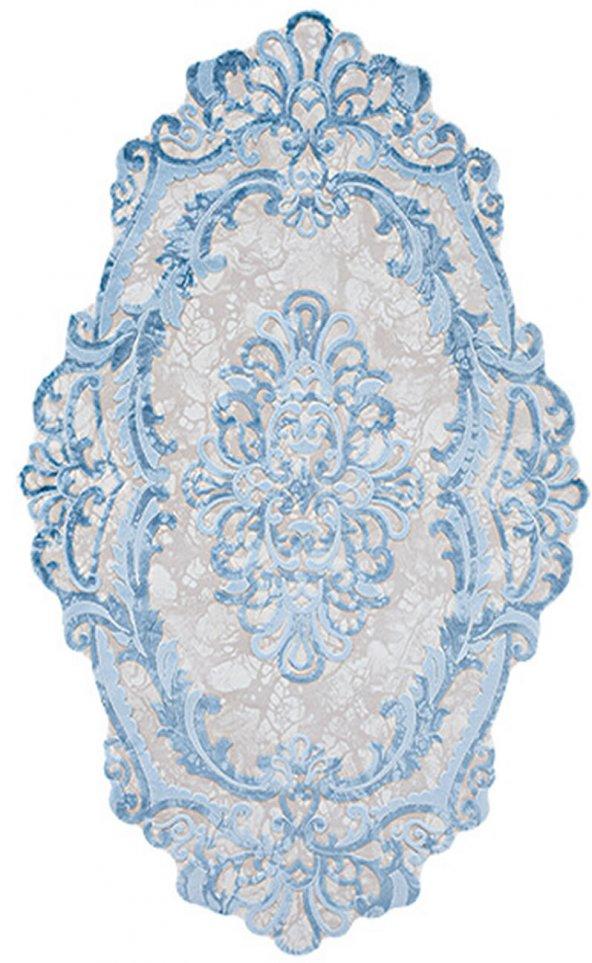 EVEREST ŞEKİL 3357E  BLUE BEIGE 080X150