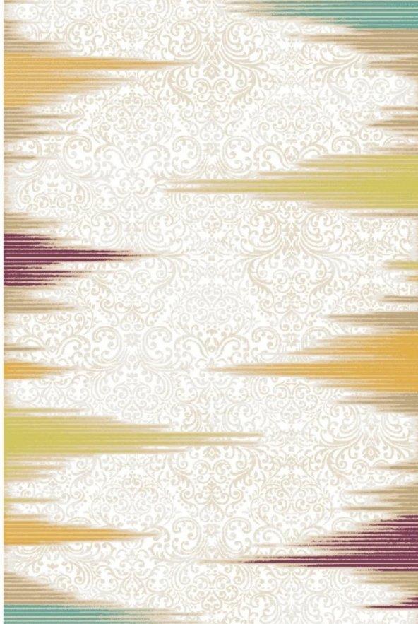 MİDYAT 8809 L.BEIGE D.GREEN  LIGHT BEIGE DARK GREEN 078X300