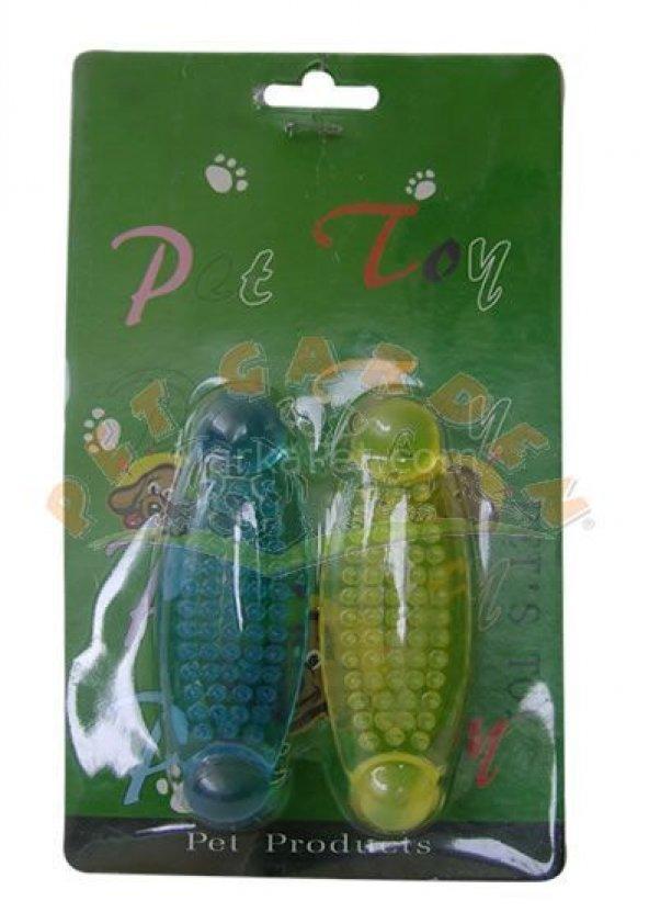 Eastland Plastik Köpek Diş Kaşıma Oyuncak 2 li 10 cm