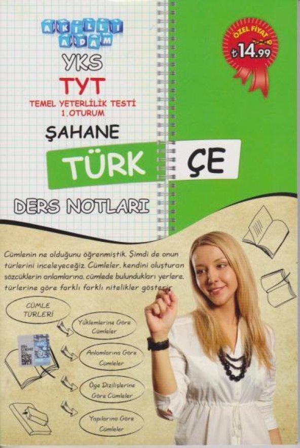 Akıllı Adam YKS TYT Şahane Türkçe Ders Notları 1. Oturum
