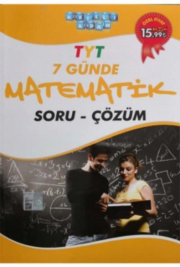 Akıllı Adam TYT 7 Günde Matematik Soru Çözüm