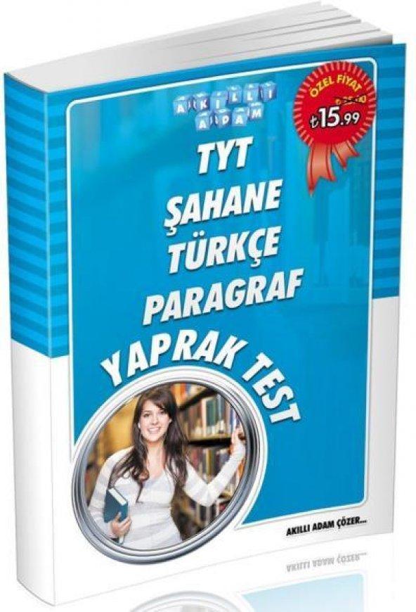 Akıllı Adam TYT Şahane Türkçe Paragraf Yaprak Test YENİ