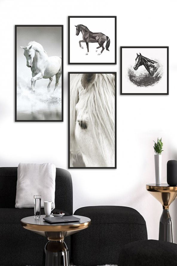 Atlar 4lü Ahşap