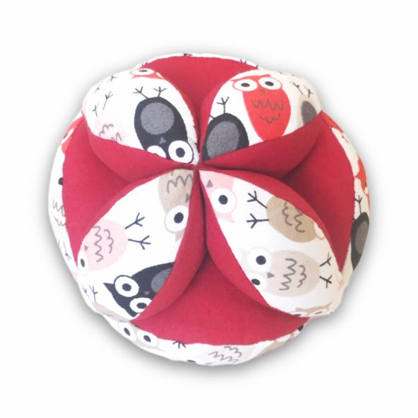 Montessori Topu Little Owl Antialerjik Zeka Geliştirici Top