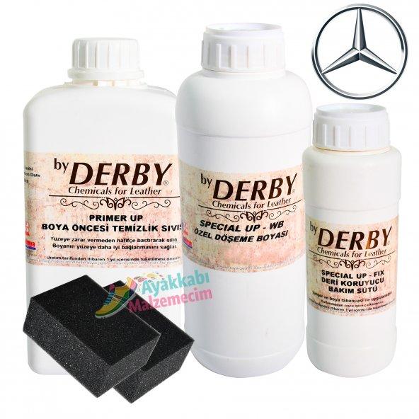 Derby Deri Döşeme Oto Koltuk Boya 1 Kg. Mercedes Özel