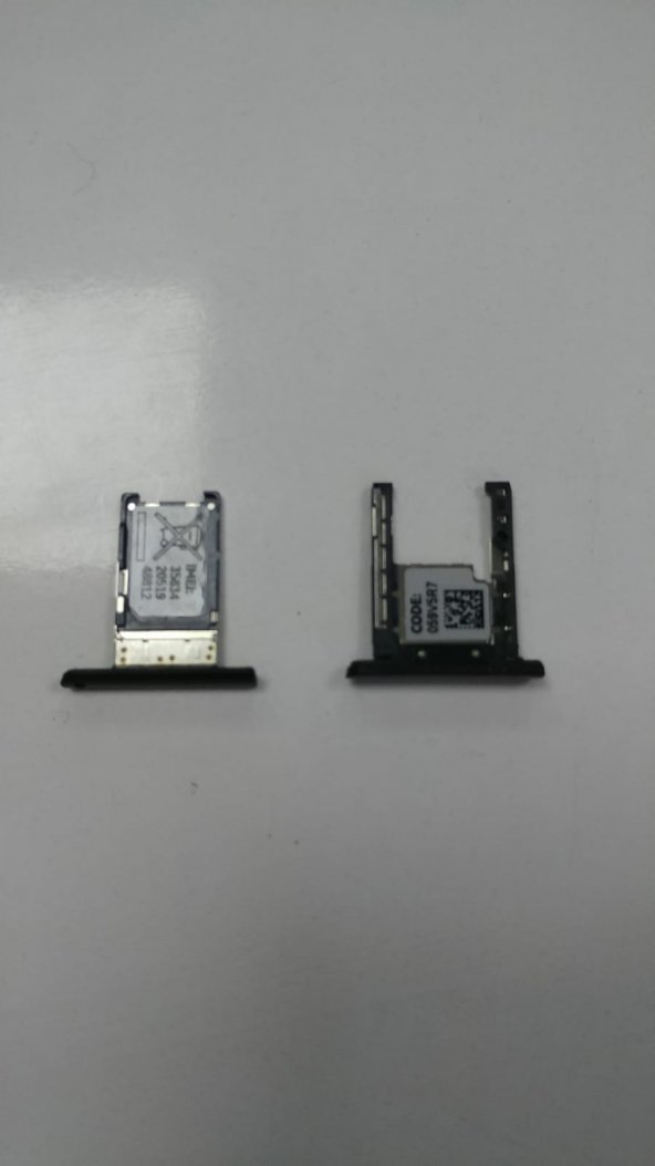 Nokia Lumia 1520 orjinal sim hafıza kart yuvası kızak çıkma temiz