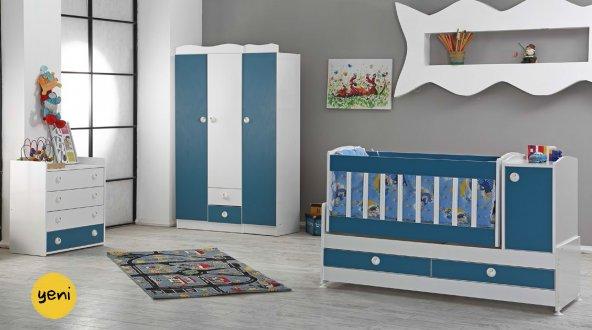 Büyüyebilen Bebek Odası Takımı ( 4 Renk Seçeneği)