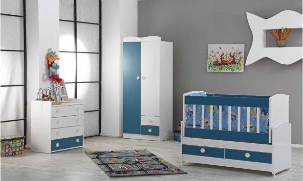 Smart Bebek Odası Takımı (4 Renk Seçeneği )