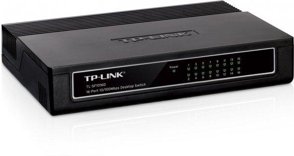 TP-Link TL-SF1016D 16 Port 10/100 MB Desktop Switch