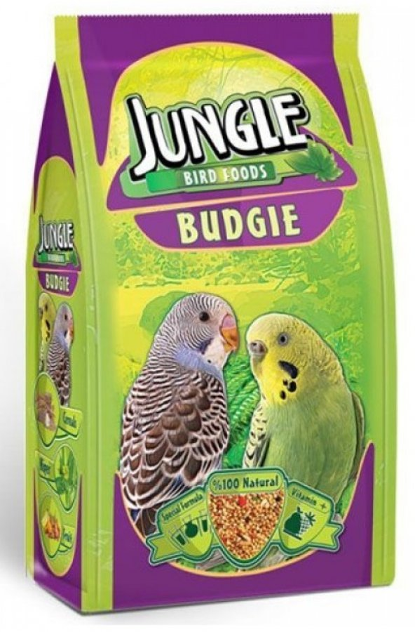 Jungle Vitaminli Muhabbet Kuşu Yemi 400 Gr