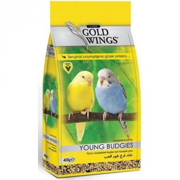 Gold Wings Classic Yavru Muhabbet Kuşu Yemi 400 Gr