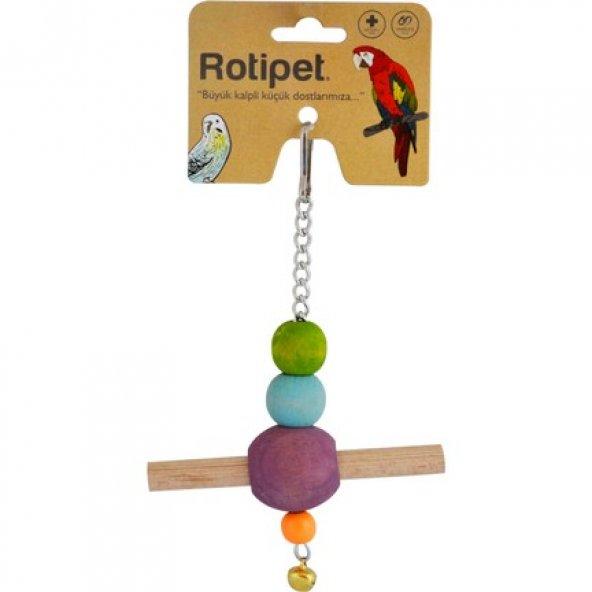 Rotipet Tünekli Sarkaç Kuş Oyuncağı