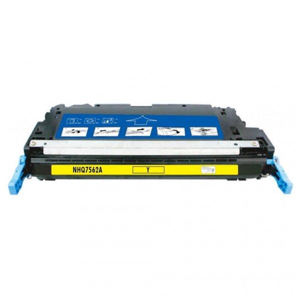 Ppt Premium®  HP Q7562A (2700/3000) SARI MUADİL TONER (4K)