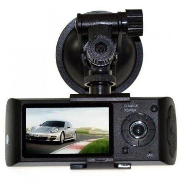 AngelEye KS-524 HD Ön ve İç Çift Kameralı GPS Destekli Araç Kamerası