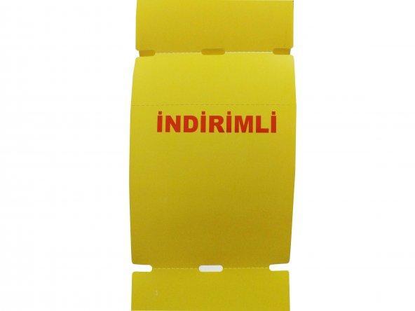 100x135 Barkod Yazıcı Termal İndirim Etiketi (1 Rulo 250 Adet)