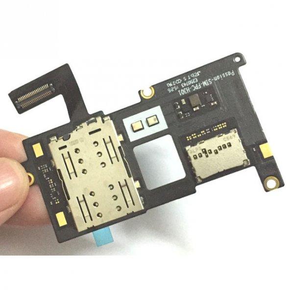 Lenovo Vibe P1 P1a42 P1c58 P1c72 Sim Kart Yuvası Hafıza Kart Yuva