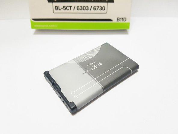 Nokia BL-5CT Batarya Pil C3-01 C5 C6-01 6730C Batarya Pil