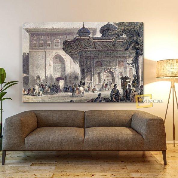 Topkapı Sarayı Bab-ı Hümayun Kanvas Tablo