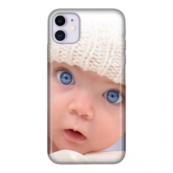 iPhone 11 6.1 inc Kılıf Desenli Esnek Silikon Telefon Kabı Kapak - Bebişko
