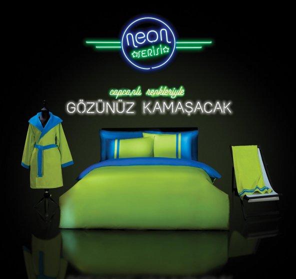 Özdilek Neon Ranforce Nevresim Takımı Çift Kişilik REKLAM ÜRÜNÜ