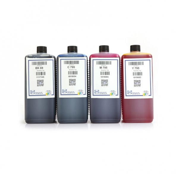 Canon Pixma G2410 Yazıcı OCP 4 Renk Mürekkep Seti 1000 ml