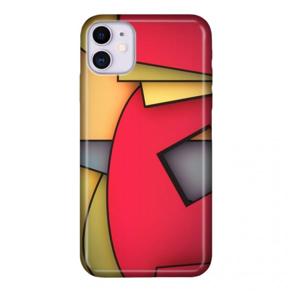 iPhone 11 6.1 inc Kılıf Desenli Esnek Silikon Telefon Kabı Kapak - Geomatrix