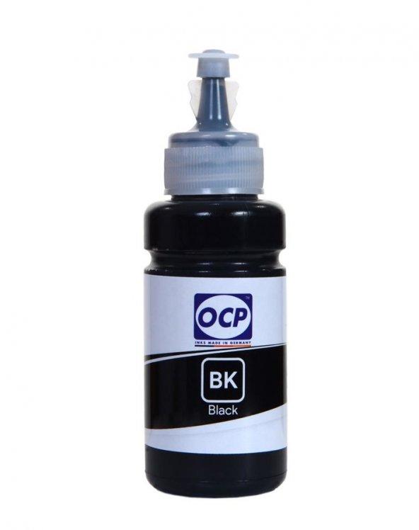 Epson L3156 Yazıcı OCP BK Siyah Dye Mürekkep 70 ml