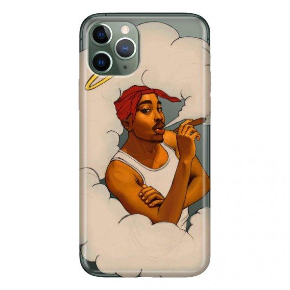 iPhone 11 Pro 5.8 inch  Kılıf Desenli Esnek Silikon Telefon Kabı Kapak - 2Pac
