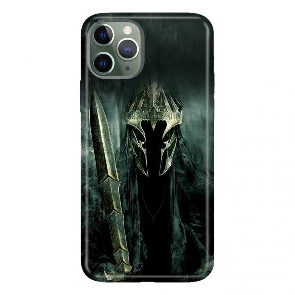 iPhone 11 Pro 5.8 inch  Kılıf Desenli Esnek Silikon Telefon Kabı Kapak - Nazgul