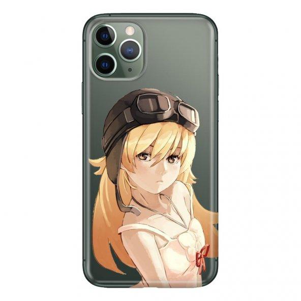 iPhone 11 Pro 5.8 inch  Kılıf Desenli Esnek Silikon Telefon Kabı Kapak - Anime Pilot